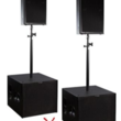 PL-audio Club Set, F12pro Multifunktionstopteil, B18 CSA Subwoofer  in 69488 Birkenau mieten